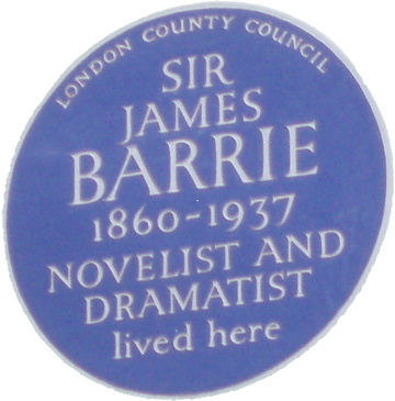 Blue Plaque - James Barrie
